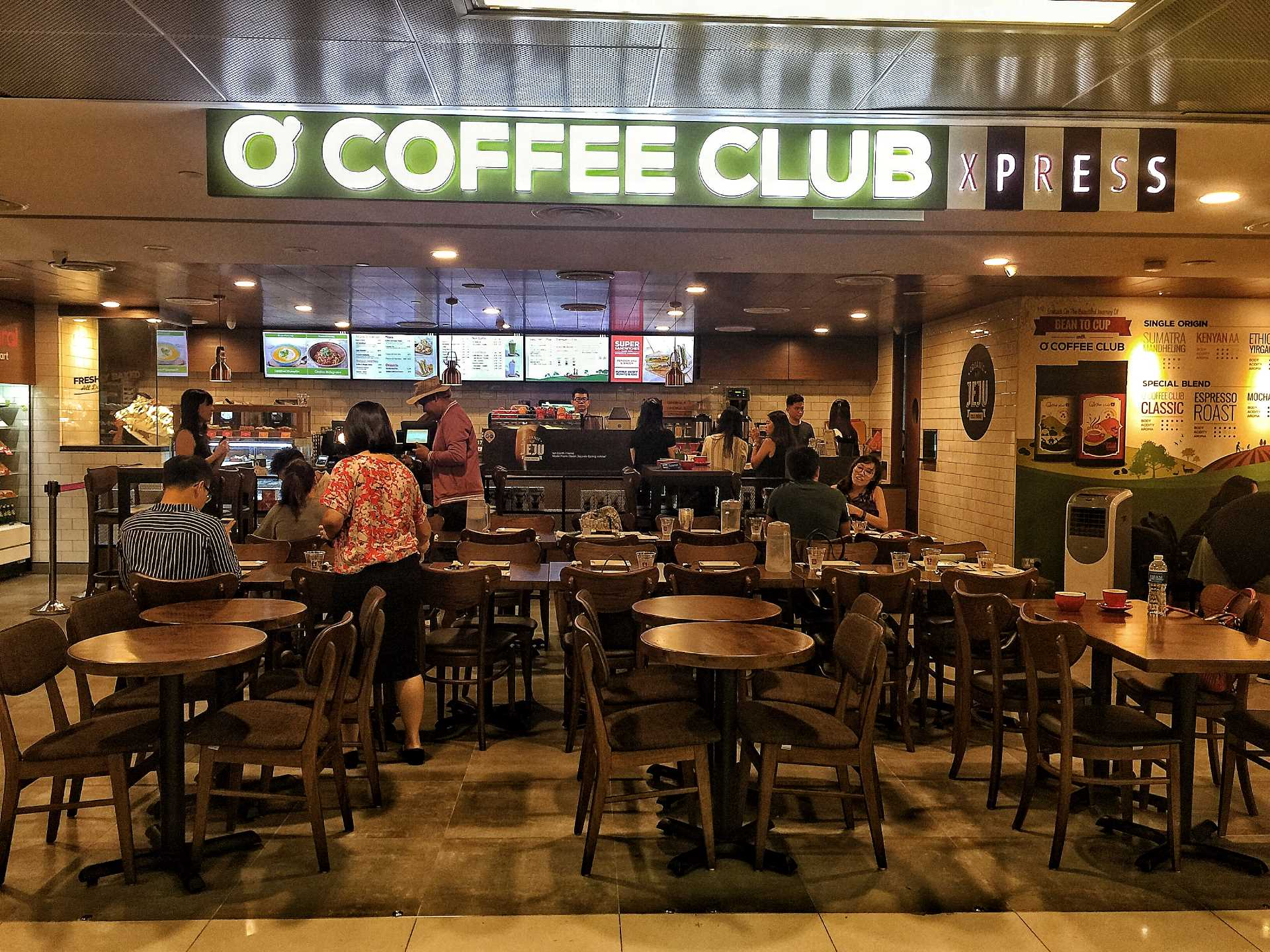 O Coffee Club Xpress - Raffles Place Xchange Shop