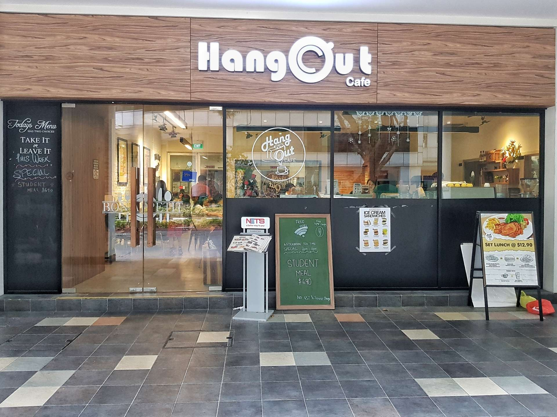 Hang Out Cafe - NAFA Shop
