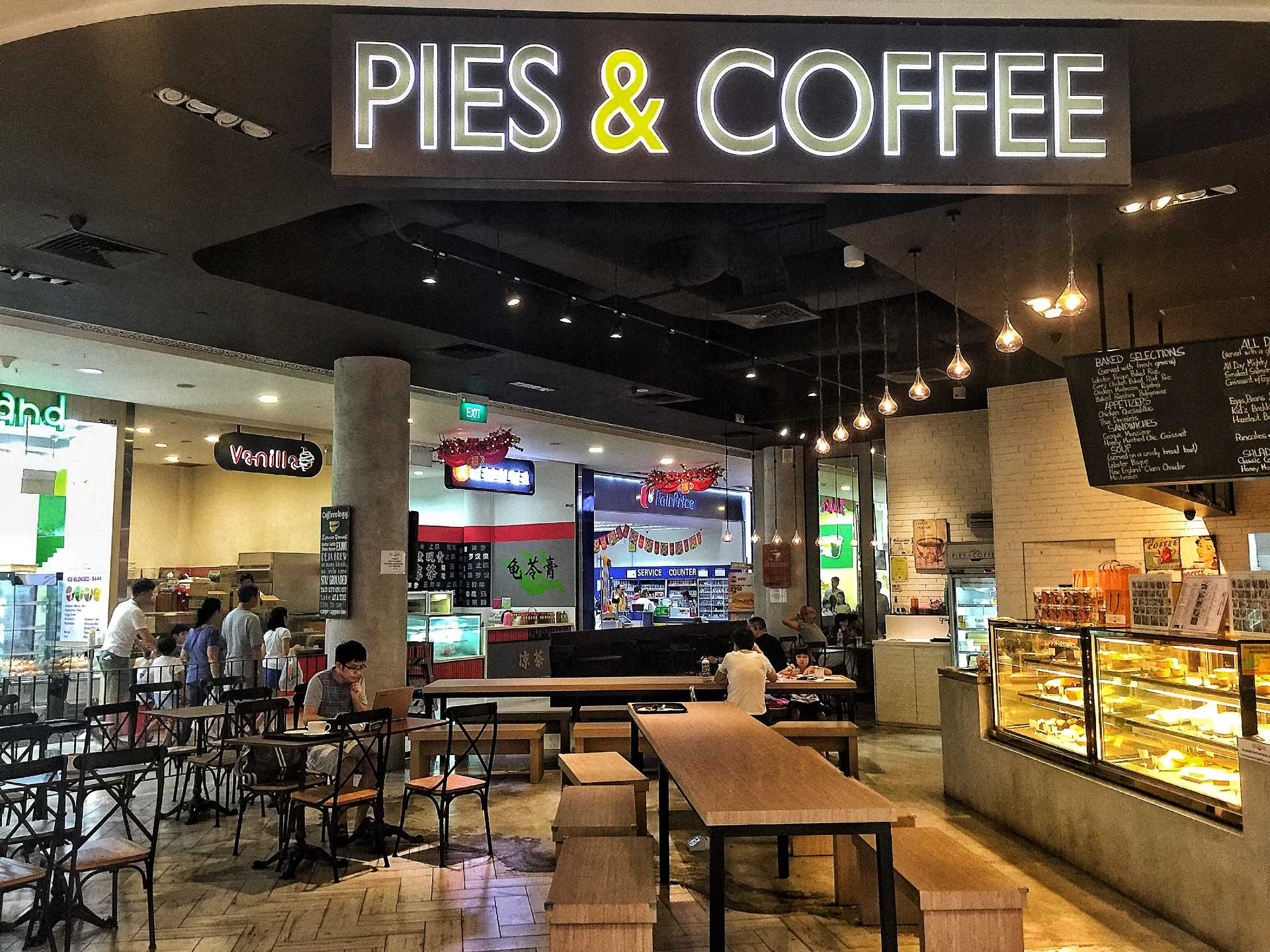 Pies & Coffee - ARC Shop