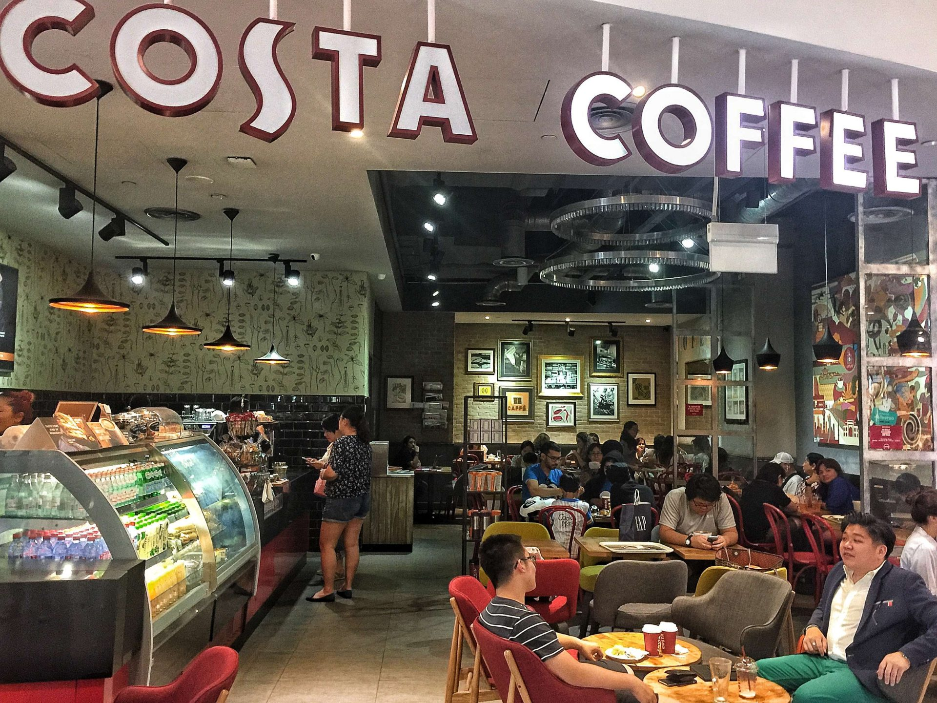 Costa Coffee - Vivocity Shop